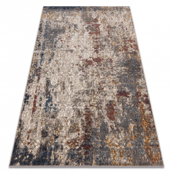 Carpet Wool NAIN Ornament vintage 7700/51922 beige / navy / terracotta