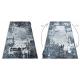 Dywan DE LUXE nowoczesny 2078 Ornament vintage przecierany - Strukturalny szary