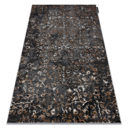 модерен DE LUXE килим 2080 украшение vintage - structural сив
