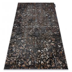 Modern DE LUXE carpet 2080 ornament vintage - structural grey
