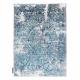 Dywan DE LUXE nowoczesny 2082 Ornament vintage przecierany - Strukturalny krem / szary
