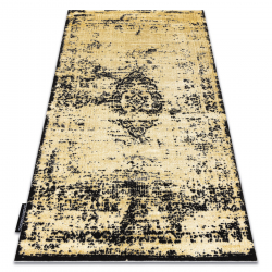 сучасний DE LUXE килим 2083 Орнамент vintage - Structural золото / сірий