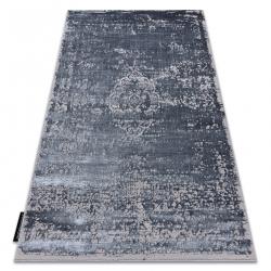 Modern DE LUXE carpet 2083 ornament vintage - structural grey