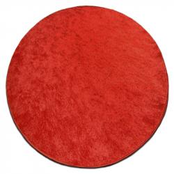 Carpet circle SERENADE red