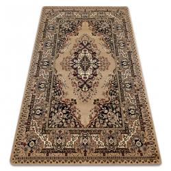 Carpet ROYAL design G018 Classic Rosette beige / cream