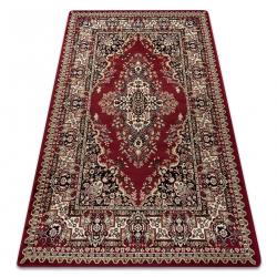 Carpet ROYAL design G018 Classic Rosette red / cream