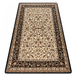Carpet ROYAL design G020 black / cream
