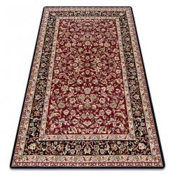 Carpet ROYAL design G020 black / dark red