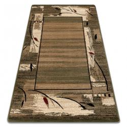 Carpet ROYAL design GR010 Frame, beige / green