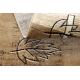 Dywan ROYAL wzór GR012 Liście, krem / beż