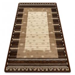 Carpet ROYAL design GR013 Frame, cream / beige / brown