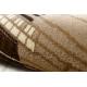 Tapis ROYAL modèle GR013 Cadre, crème / beige / brun