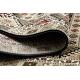 Dywan ROYAL wzór GR015 Vintage, czarny / krem