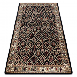 Carpet ROYAL design GR023 Classic Ornament, black / cream