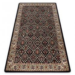Teppich ROYAL modell GR023 Klassisch Ornament schwarz / creme