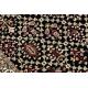 Dywan ROYAL wzór GR023 Klasyczny Ornament, czarny / krem