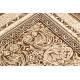Dywan ROYAL wzór GR024 Ornament Ramka brązowy / beż
