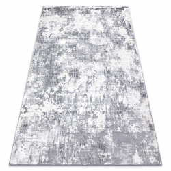 Carpet CORE A002 Abstraction - structural, two levels of fleece, ivory / grey