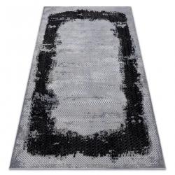 CORE szőnyeg A004 Keret, árnyékolt - Structural, két szintű, fekete / szürke
