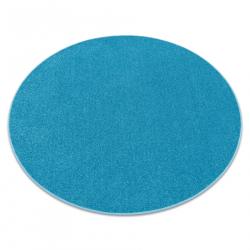 TAPIS cercle ETON turquoise