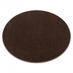 TAPIS cercle ETON marron