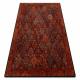 Alfombra de lana SUPERIOR KAIN rubí