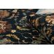 Gyapjú szőnyeg Superior LATICA sötétkék