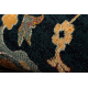 Alfombra de lana SUPERIOR LATICA azul oscuro