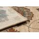 Vlněný koberec SUPERIOR LATICA krém