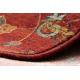 Alfombra de lana SUPERIOR LATICA rubí