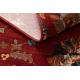 Vlněný koberec SUPERIOR LATICA rubín
