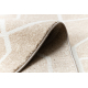 Ковер SAMPLE Bogue 0W0842 геометрический бежевый / слоновой кости