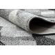 Alfombra de pasillo SILVER Palanga gris