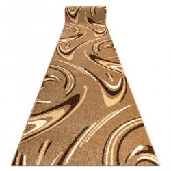 Fryz futó szőnyeg karmel - coffee dió