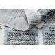 Dywan nowoczesny BELLE BR22A beż / niebieski Frędzle