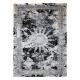 Moderný koberec JAVA 1407 ornament farba slonoviny / sivá