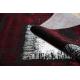 Dywan JAVA nowoczesny 1523 Ramka czerwony / kość słoniowa