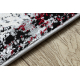 Modern JAVA carpet 1544 Abstraction ivory / red