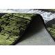 Dywan JAVA nowoczesny 1523 Ramka zielony / kość słoniowa
