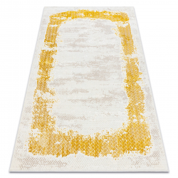 Carpet CORE A004 Frame, Shaded - structural two levels of fleece, ivory / gold
