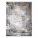 Modern LUCE 77 Teppich Rahmen vintage - Strukturell grau / Senf