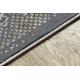 Tapis LUCE 77 moderne Cadre vintage - Structural gris / moutarde