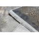 Covor LUCE 77 modern cadru vintage - structural gri / muştar