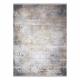 Tæppe LUCE moderne 84 Pynt vintage vasket - Strukturelle grå / sennep