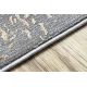 современный LUCE 84 ковер Орнамент vintage - Structural серый / горчица