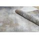 Modern LUCE 84 Teppich Ornament vintage - Strukturell grau / Senf