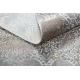 Modern LUCE 84 carpet ornament vintage - structural grey / mustard