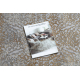 Covor LUCE 84 modern ornament vintage - structural gri / muştar