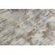 Tapis LUCE 74 moderne Pavage brique vintage - Structural gris / moutarde