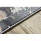 Dywan LUCE 74 nowoczesny Kostka brukowa vintage przecierany - Strukturalny szary / musztarda